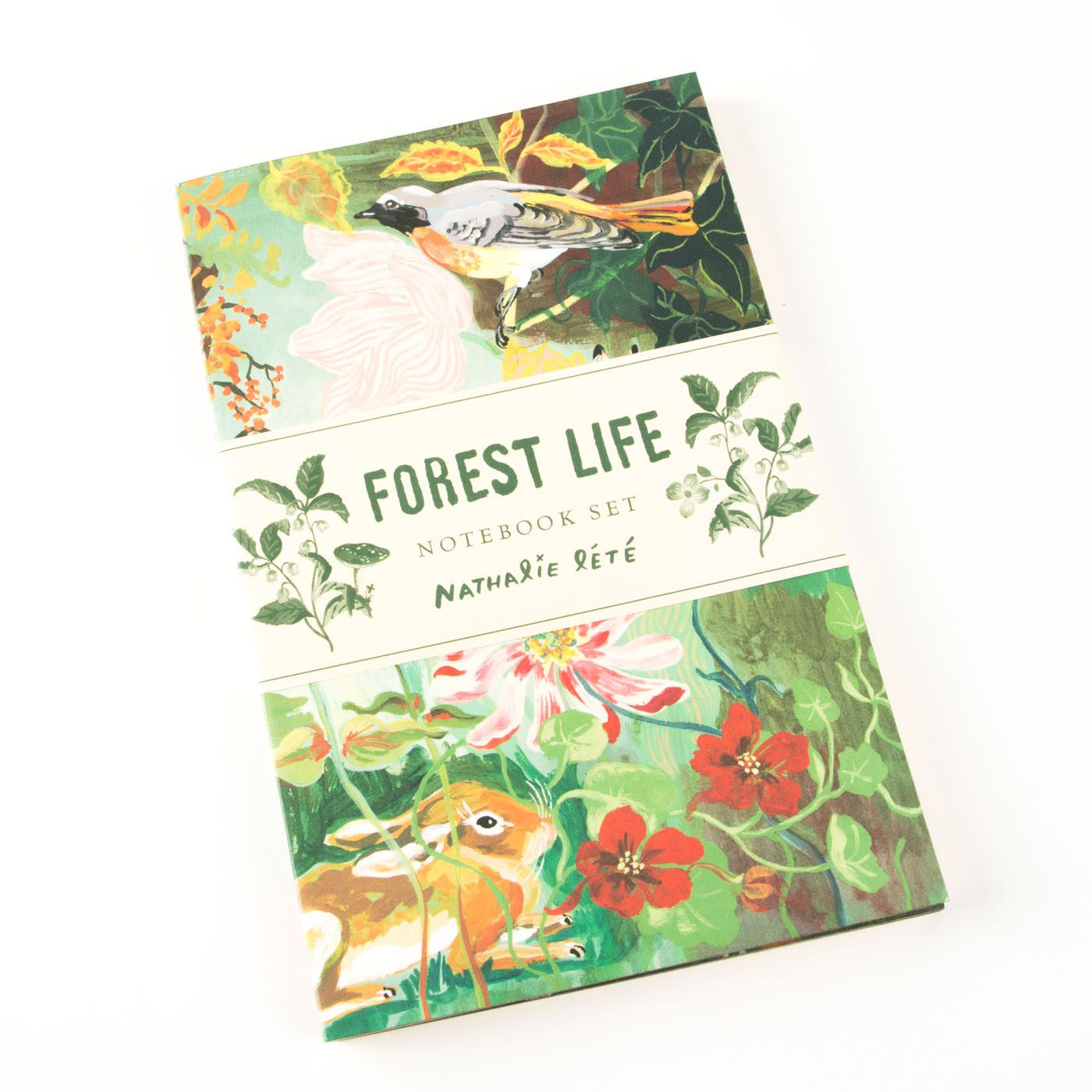 Forest Life Themed Notebook Set