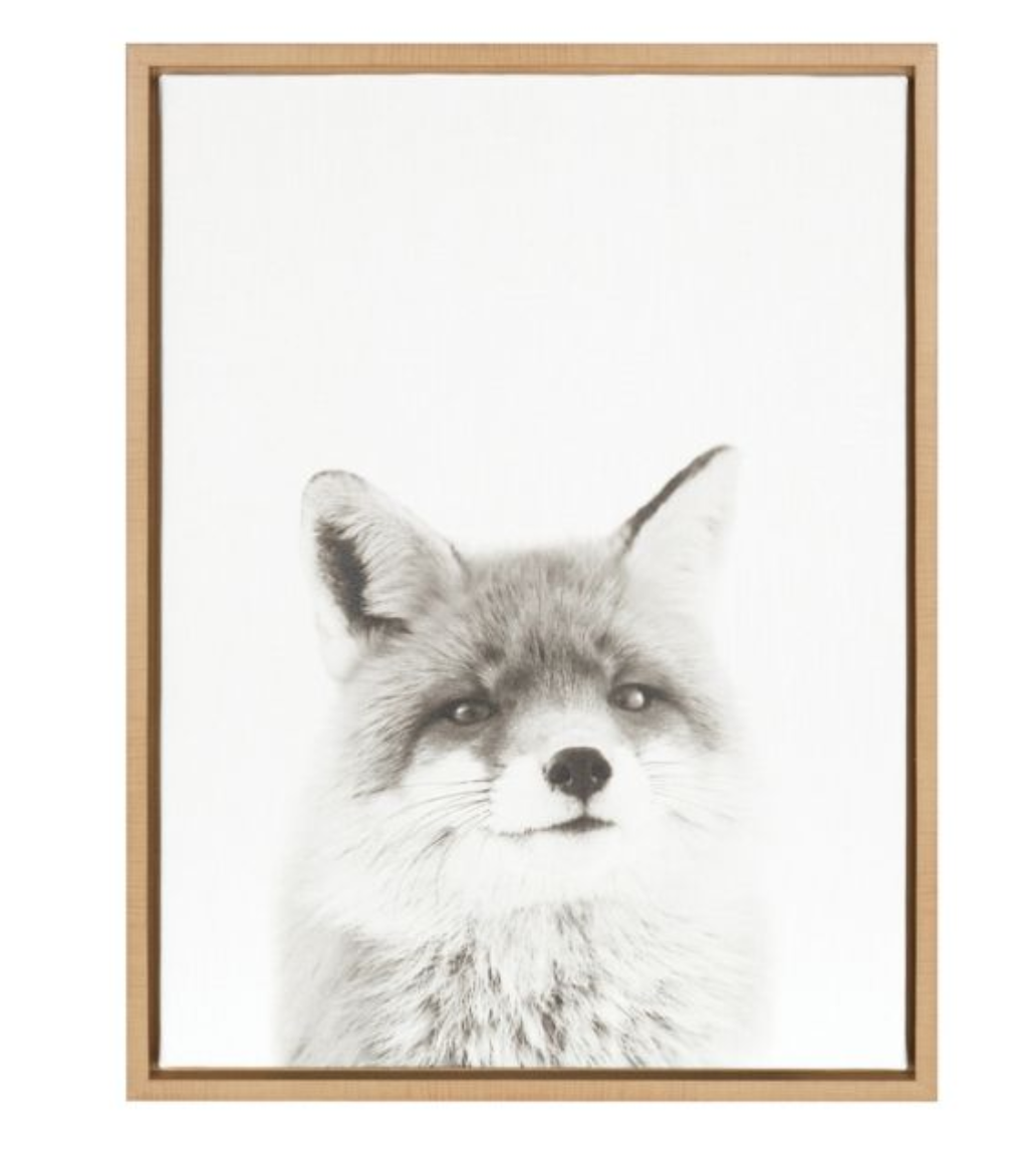 Fox Canvas Wall Art